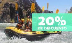 Empresa de Actividades de Aventura como Rafting, Trekking, Tirolesa, Canopy, etc. Ubicada en Valle Grande, San Rafael Mendoza. 20% de descuento!
